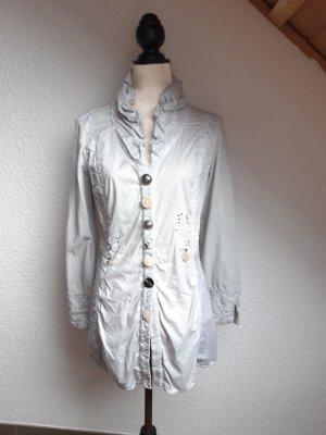 Bottega Veneta Shirt Jacket light grey