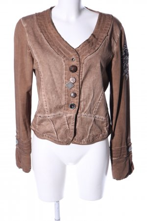 Bottega Kurzjacke braun Casual-Look