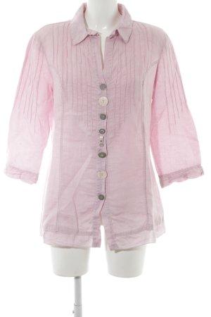 Bottega Langarm-Bluse rosé Casual-Look