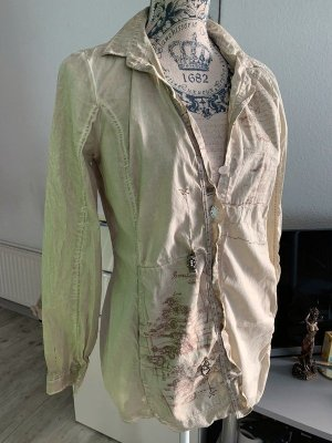 Bottega LongBluse/Hemd - Beige Melange - Größe S 34/36 - EDEL