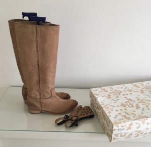 Bottega Boots western chameau