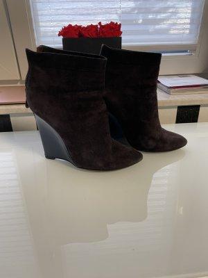 Bottega Veneta Chelsea laarzen bruin-donkerblauw