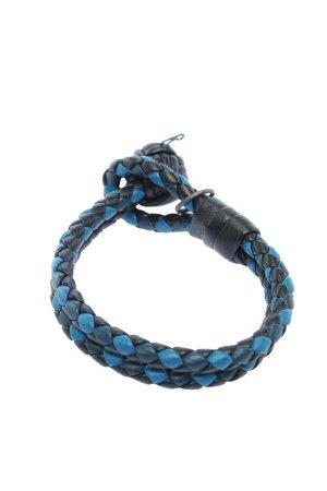 Bottega Veneta Bransoletka niebieski-czarny W stylu casual