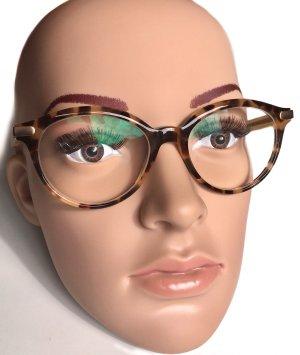 Bottega Veneta Okulary piaskowy brąz-ciemnobrązowy Włókno octanowe