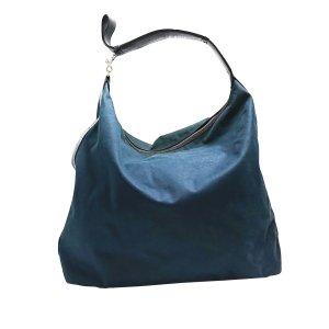 Bottega Veneta Schoudertas blauw