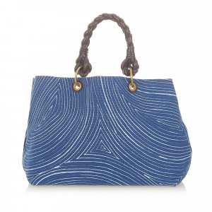 Bottega Veneta Torebka typu tote niebieski