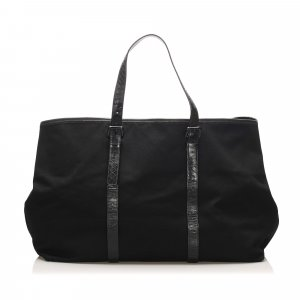 Bottega Veneta Canvas Travel Bag