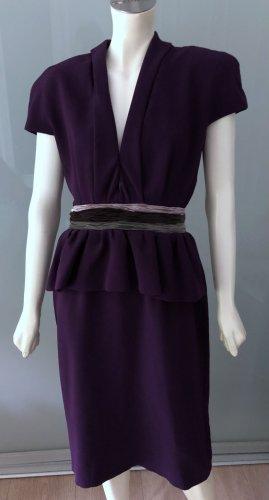 Bottega Veneta Pencil Dress multicolored wool