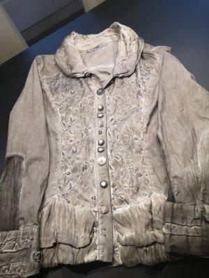 Bottega Veneta Marynarka koszulowa jasnoszary