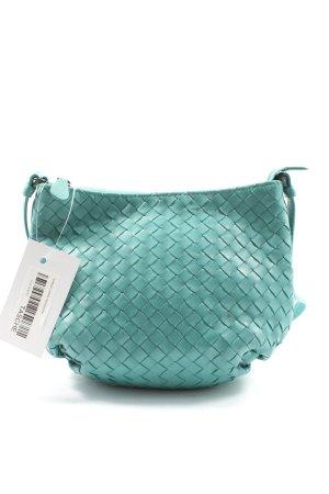 Bottega Veneta Sac à main turquoise style décontracté