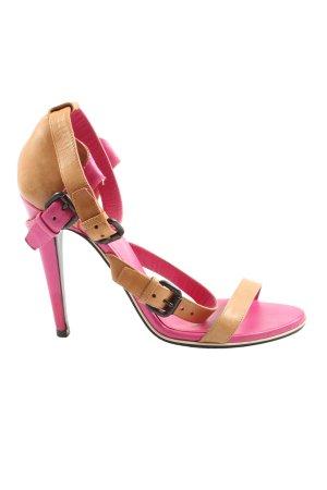 Bottega Veneta Sandales à talon haut rose-rose chair élégant
