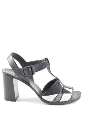 Bottega Veneta High Heels schwarz-weiß Elegant