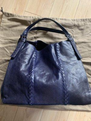 Bottega Veneta Hobotas blauw Leer