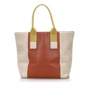 Bottega Veneta Intecciato Leather Tote Bag
