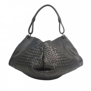 Bottega Veneta Intrecciato Aquilone Fortune Cookie Hobo Bag