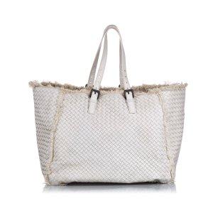 Bottega Veneta Tote white leather