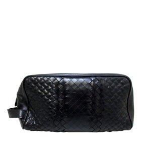 Bottega Veneta Intrecciato Imperatore Leather Clutch Bag