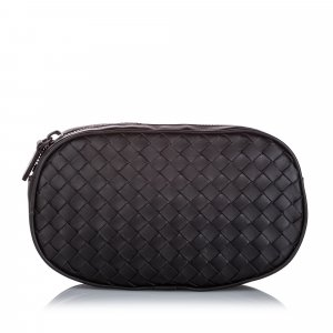 Bottega Veneta Intrecciato Leather Belt Bag