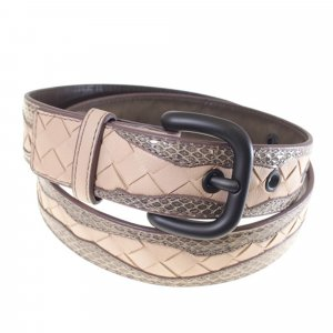 Bottega Veneta Belt light pink leather