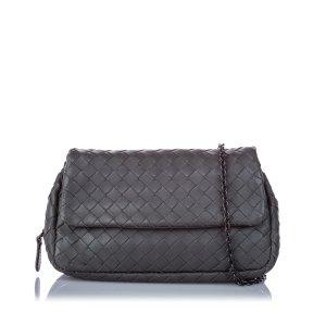 Bottega Veneta Intrecciato Leather Chain Crossbody Bag