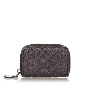 Bottega Veneta Intrecciato Leather Coin Pouch