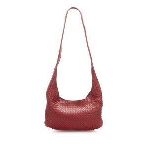 Bottega Veneta Gekruiste tas rood Leer