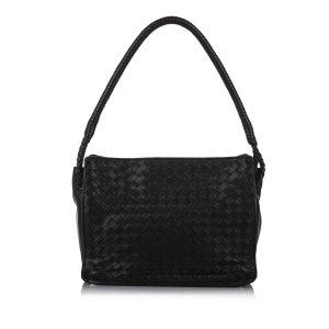 Bottega Veneta Handbag black leather