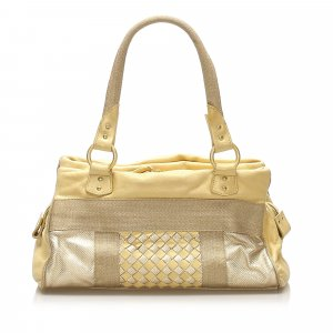 Bottega Veneta Intrecciato Leather Handbag