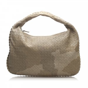 Bottega Veneta Hobos beige leather