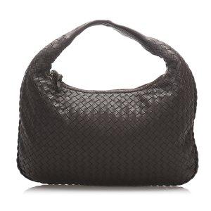 Bottega Veneta Intrecciato Leather Hobo Bag
