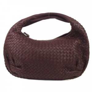 Bottega Veneta Hobos purple leather