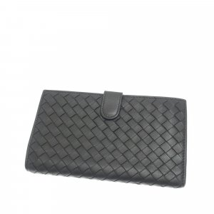 Bottega Veneta Intrecciato Leather Long Wallet