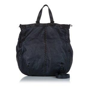 Bottega Veneta Satchel black leather