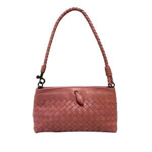 Bottega Veneta Sac porté épaule rosé cuir