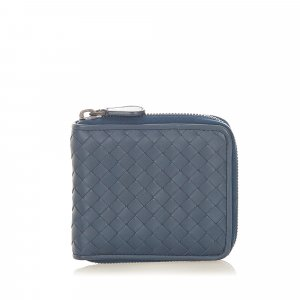Bottega Veneta Intrecciato Leather Small Wallet