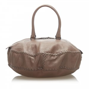 Bottega Veneta Travel Bag brown leather