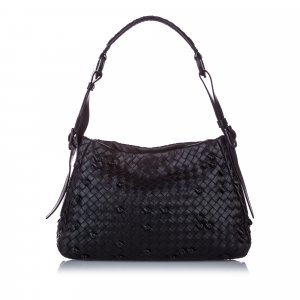 Bottega Veneta Intrecciato Nappa Naruto Knot Shoulder Bag