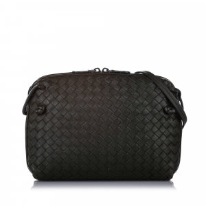 Bottega Veneta Intrecciato Nodini Crossbody Bag
