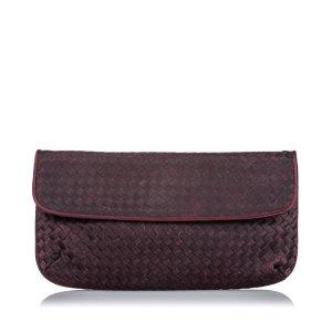 Bottega Veneta Intrecciato Nylon Clutch Bag