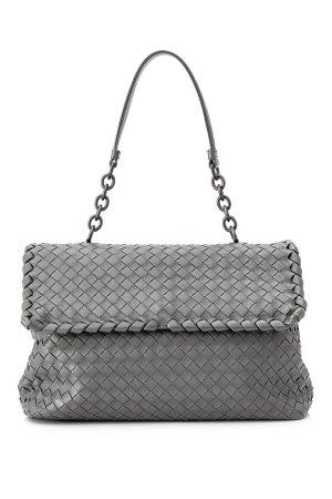 Bottega Veneta Intrecciato Olimpia Leather Shoulder Bag
