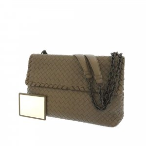 Bottega Veneta Intrecciato Olimpia Shoulder Bag