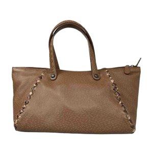 Bottega Veneta Intrecciato Peckary Leather Handbag