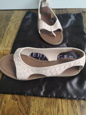 Bottega Veneta Flip-Flop Sandals dusky pink