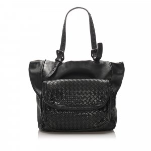 Bottega Veneta Intrecciato Scarabee Leather Tote Bag