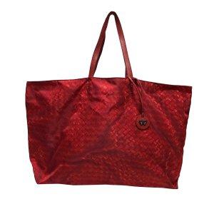 Bottega Veneta Torebka typu tote czerwony Nylon