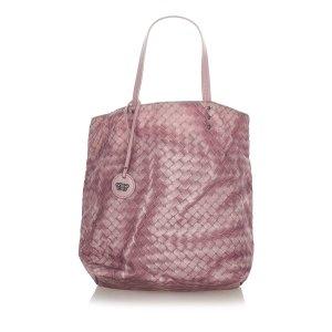 Bottega Veneta Sac fourre-tout rosé nylon