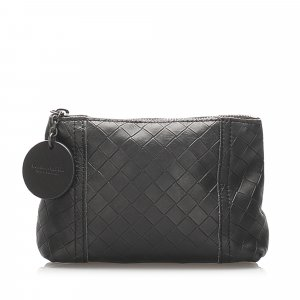 Bottega Veneta Intrecciomirage Leather Pouch