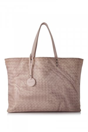 Bottega Veneta Intrecciomirage Nylon Tote Bag