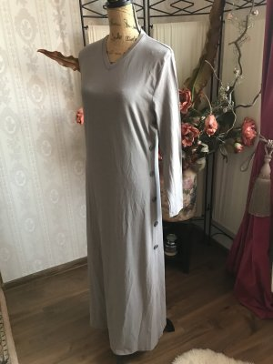 Bottega Veneta Robe à manches longues gris clair-gris