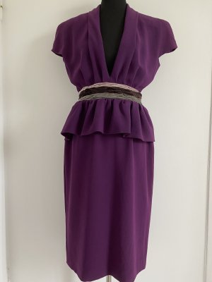 Bottega Veneta Robe fourreau violet polyester